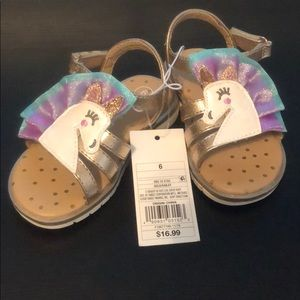 Cat & Jack Unicorn Sandals
